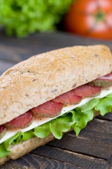 Free Sandwich Royalty Free Stock Image - 15405876