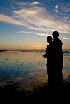 Free Young Couple Holding Each Other Stock Image - 15406251