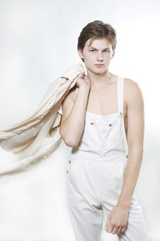 Free Male Fashion Model Posing Stock Photo - 15406660
