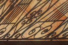 Free Shadows On Tiled Patio Stock Photos - 15407503