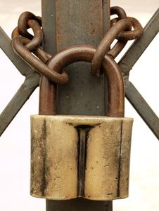 Free Padlock Royalty Free Stock Photos - 15408828