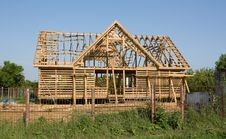 Free Wooden Frame Construction Royalty Free Stock Photos - 15409078