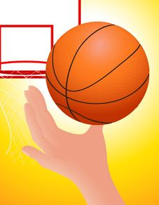 Free Basketball Royalty Free Stock Image - 15409306