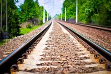 Free Railway Royalty Free Stock Photos - 15409468