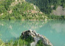 Free Issyk Lake Royalty Free Stock Images - 15409659