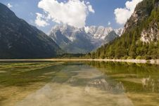 Free Mountain Lake In Italian Alps Royalty Free Stock Photo - 15409695