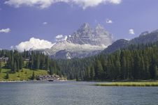 Free Alps Mountain Lake In Italy Stock Photos - 15409713