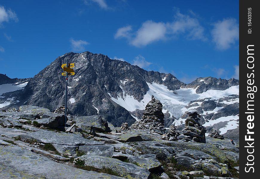 Improvement of the mountain summits
