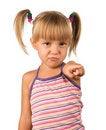 Free Portrait Of Emotionally Kid Stock Photography - 15412172