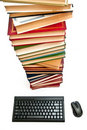 Free Keyboard And Books Stock Photography - 15417592