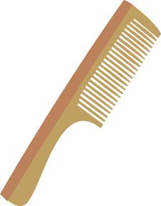Free Hairbrush Stock Photography - 15410552