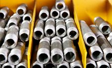 Free Metallic Pipe Royalty Free Stock Photos - 15410598