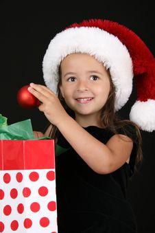 Free Christmas Girl Stock Images - 15410724