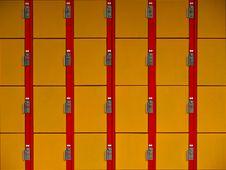 Free Lockers Wallpaper Stock Photo - 15410830