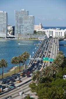 Free Leaving Miami, Florida Stock Image - 15411091