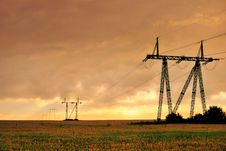 Free Power Line Stock Images - 15411584