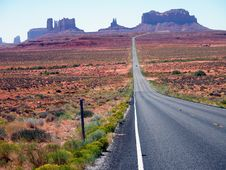 Free Summer In The Monument Valley Stock Image - 15411851