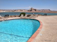 Free Lake Powell, Arizona Royalty Free Stock Photo - 15411855