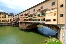 Free Ponte Vecchio, Florence Royalty Free Stock Photos - 15412088