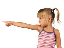 Free Funny Little Girl Stock Images - 15412184