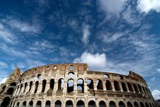 Free Famous Colosseum - Flavian Amphitheatre, Rome, Ita Stock Images - 15412664