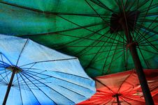 Free Beach Umbrella Stock Images - 15412884