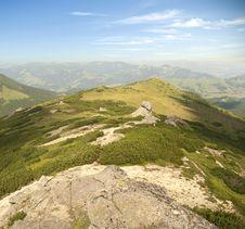 Free Mountain Range Landscape Stock Image - 15414131