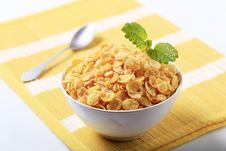 Free Corn Flakes Royalty Free Stock Photography - 15414207