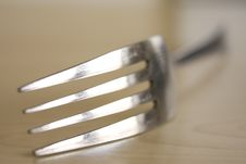 Free Fork On Wood Stock Photos - 15414283