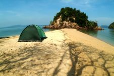 Free Relax At Koh Pakbrew Stock Images - 15414504