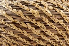Free Close Up Of A Weaved Basket Royalty Free Stock Photography - 15414737
