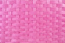 Pink Basket Weave Stock Photo