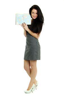 Free Woman With The Book In Hands Stock Photo - 15414910