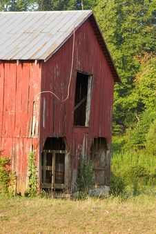 Free Old Red Barn Stock Photos - 15415053