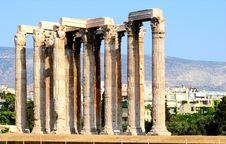 Free Temple Of Zeus Stock Photo - 15416950