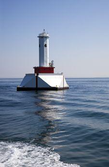 Round Island Passage, Michigan Royalty Free Stock Image