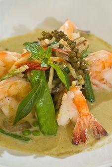 Free Thai Shrimp Soup Stock Image - 15417571