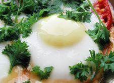 Free Egg, Tomato, Parsley Royalty Free Stock Photos - 15417838