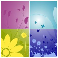 Free Floral Designs Royalty Free Stock Image - 15419526