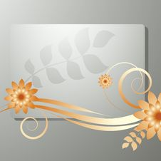 Free Floral Frame Stock Photography - 15419572