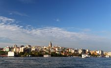 Free Bosphorus And Galata Tower Royalty Free Stock Images - 15419659