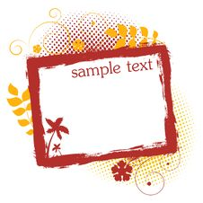 Free Grunge Frame Royalty Free Stock Image - 15419746
