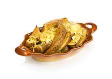 Free Potato Wedges Royalty Free Stock Photos - 15420478