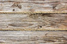 Weathered Wooden Boarding Texture Royalty Free Stock Image