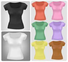 Free Colored Shirts. Stock Photo - 15421140