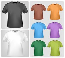 Free Colored Shirts. Stock Image - 15421141