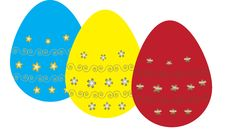 Free Easter Eggs Royalty Free Stock Photography - 15421737