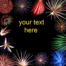 Free Holiday Fireworks Stock Photography - 15422192