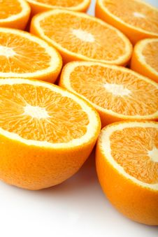 Free Orange Halves Royalty Free Stock Image - 15422696