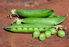 Free Green Peas Royalty Free Stock Photography - 15422857